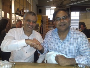 "Sunil Kumar developer of Tarneit Junction with Pooran Desai of Bio Regional UK and Author of Book of Book ""One Planet Living"""