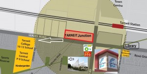 Tarneit Junction 10 minute walk